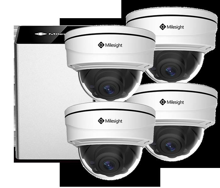 Videoovervågning 4 kamera pro